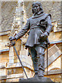 TQ3079 : Oliver Cromwell Statue by David Dixon
