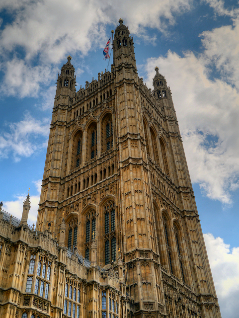 Palace of Westminster, Victoria Tower