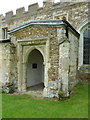 TL2240 : St George, Edworth, Porch by Alexander P Kapp
