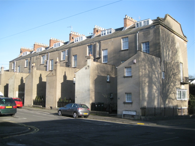 Rear of Milverton Crescent, Milverton Crescent West