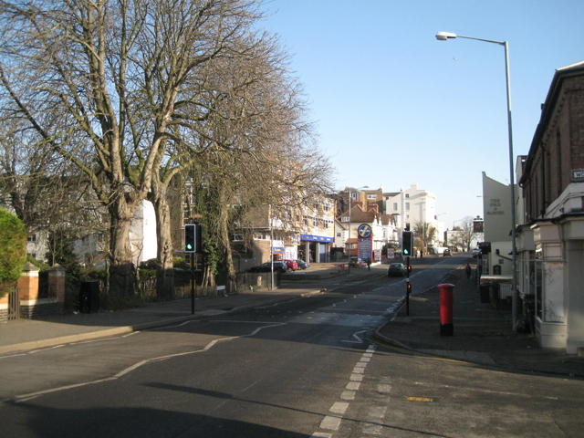 West end of Warwick Street by the Dell