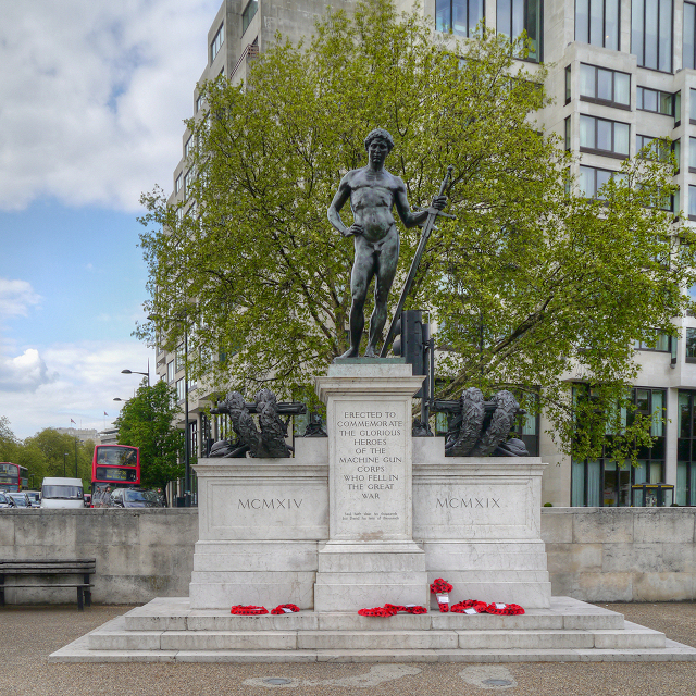 Hyde Park Corner, The Machine Gun Corps Memorial
