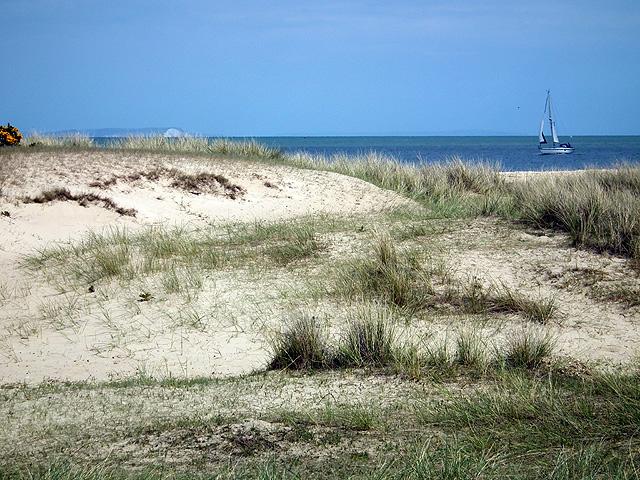 The dunes at Shell Bay