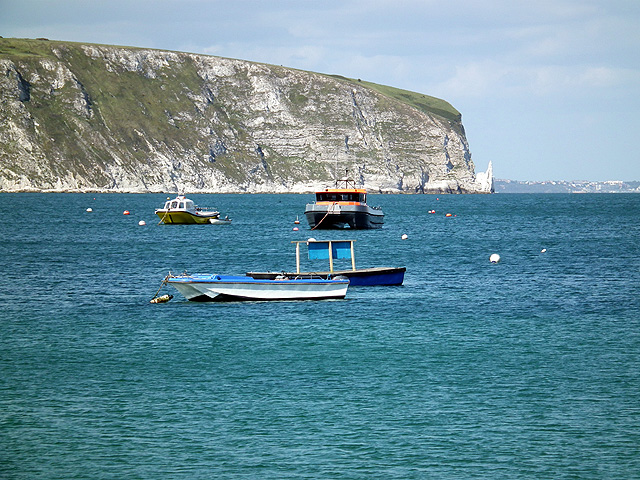 Moored in Swanage Bay