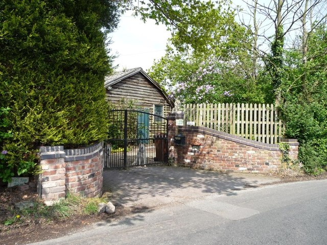 Entrance to Hill Top Farm, Buckden Lane
