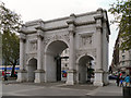 TQ2780 : The Marble Arch by David Dixon