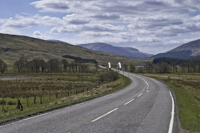 Bridge on the A82