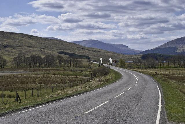 Bridge on the A82
