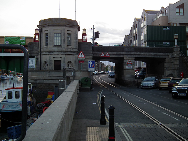 Weymouth Town Bridge and Quay Tramway