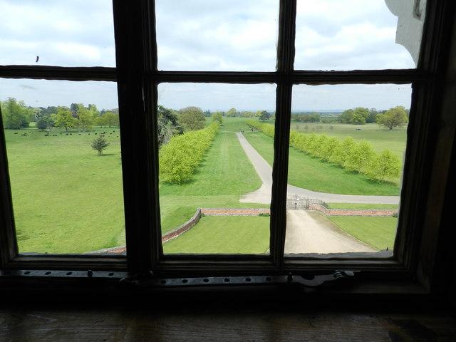 The drive, Beningbrough Hall