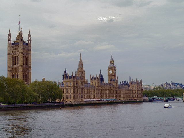 The Houses of Parliament (Palace of Westminster)