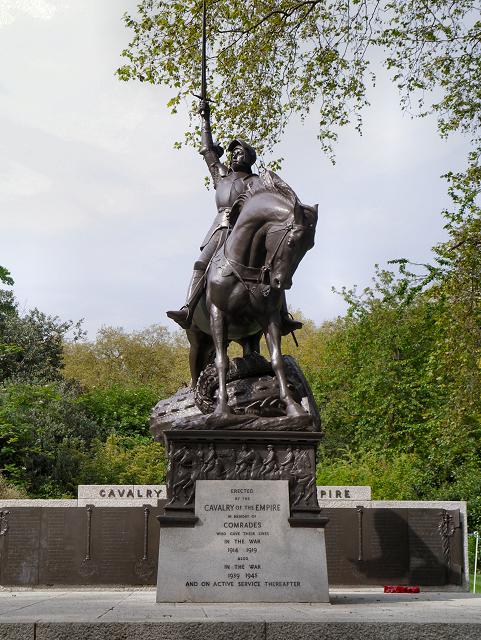 Cavalry Memorial, Hyde Park