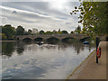 TQ2680 : Serpentine Bridge, Hyde Park by David Dixon
