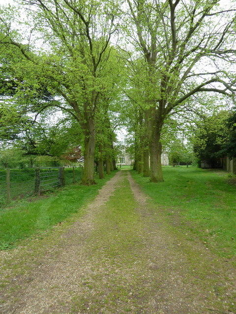 Path to The Church of St Nicholas, Hinxworth