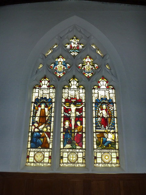 The Church of St Nicholas, Hinxworth, East window