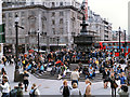 TQ2980 : Piccadilly Circus by David Dixon