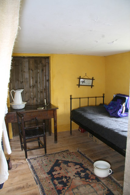 Clyston watermill - the mill boy's room