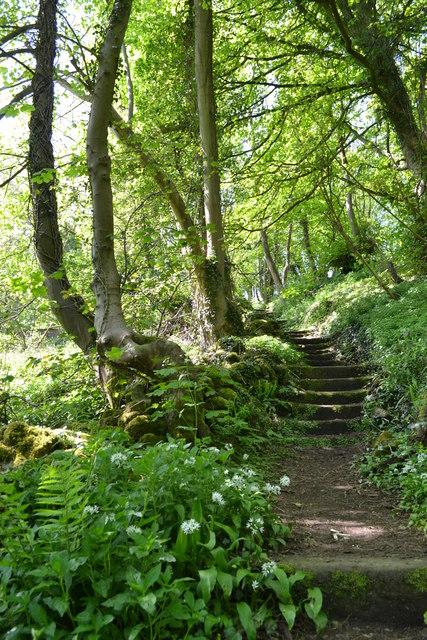 Path to the Heights of Jacob, Matlock Bath