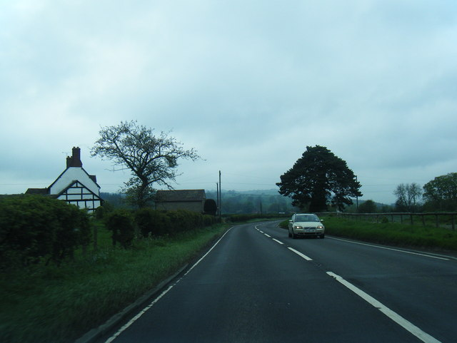A49 at Wootton