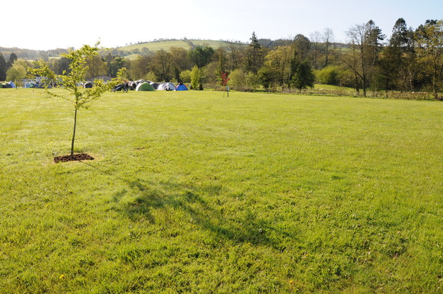 Erwlon Campsite, Llandovery