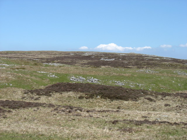 The upper slopes of Cefn yr Ystrad