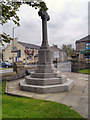 SD7726 : War Memorial, St John's Church by David Dixon