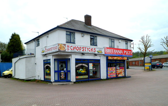Chopsticks and Britannia Pizza, Dudley