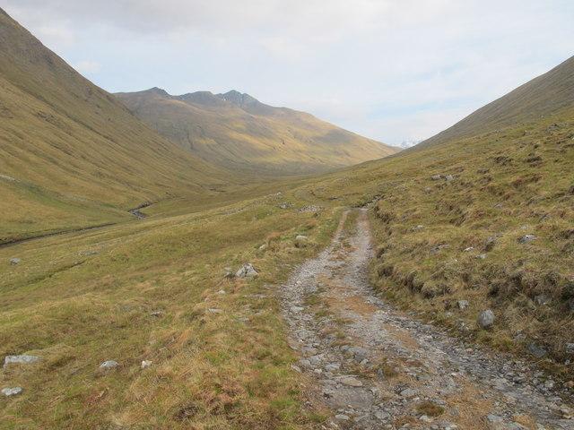 Track in An Caorann Mòr