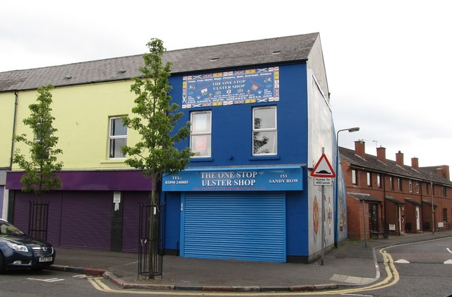 The One Stop Ulster Shop, Sandy Row