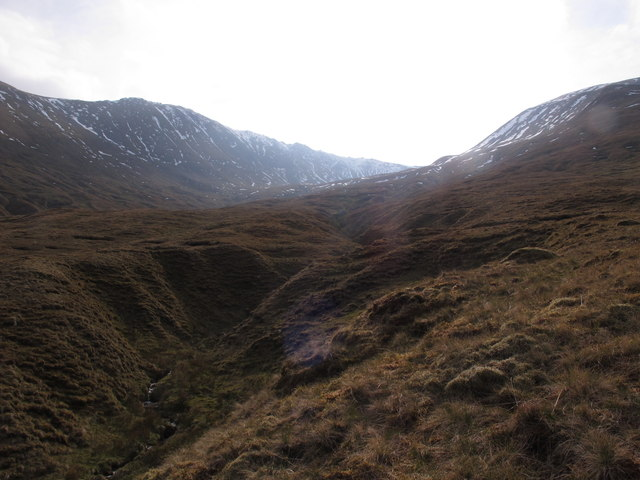 Looking Up Into Coire Odhar