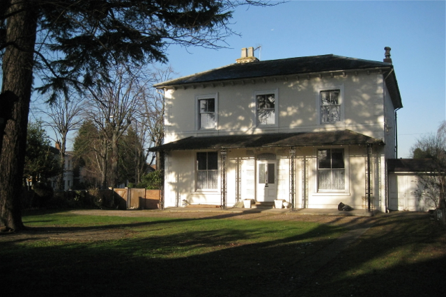 Regency villa, west end of Avenue Road