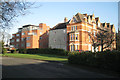 SP3165 : The Manor House flats, Avenue Road by Robin Stott