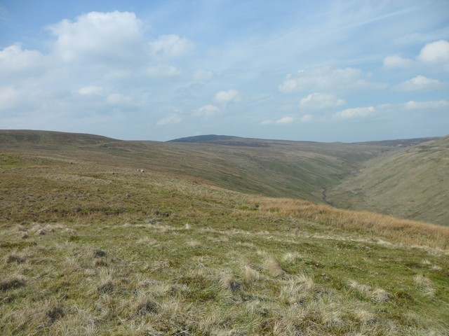 View towards Fin Glen and Earl's Seat