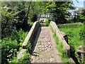 SJ4765 : The Packhorse Bridges at Hockenhull Platts by Jeff Buck