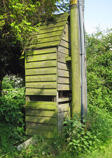 Sentry Box on West Marsh Lane