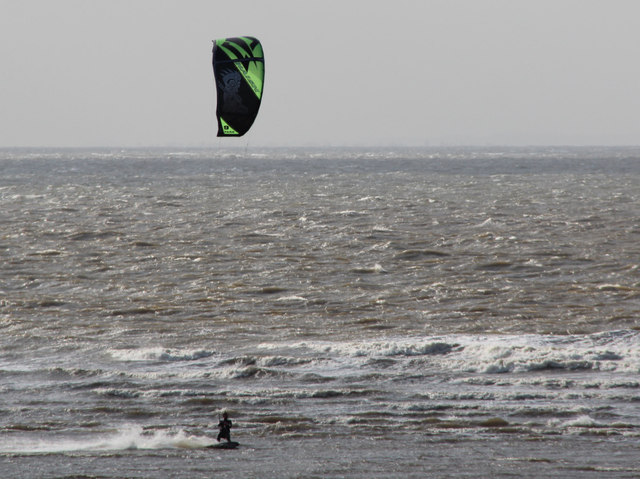 Kite Surfer, Old Hunstanton, Norfolk