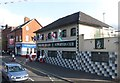 J3274 : The First Shankill Northern Ireland Supporters Club, Shankill Road by Eric Jones