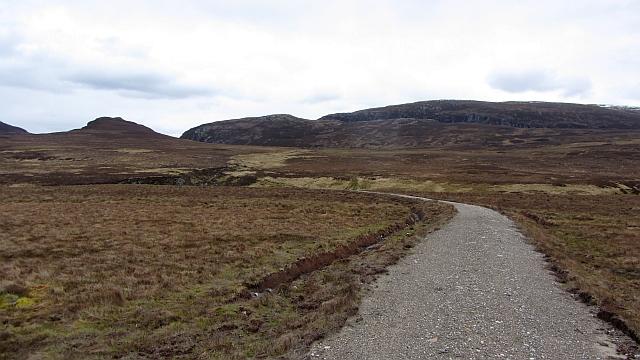 New track north of Beinn Eilde
