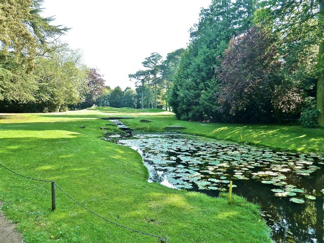 Pond on 18th Hole, Aldwark Manor Golf Course
