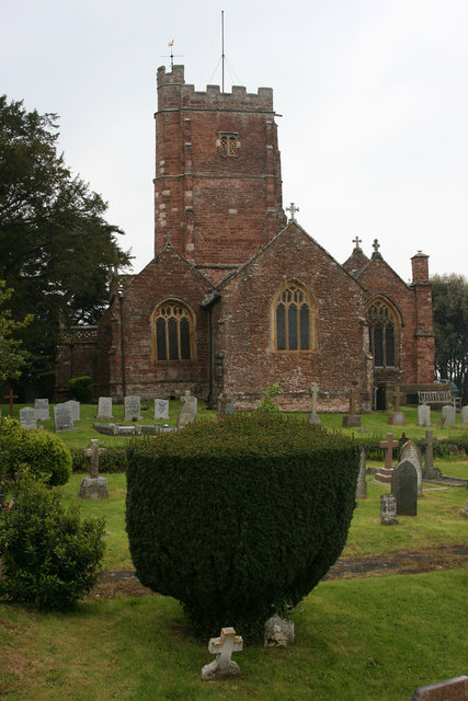 Langford Budville church