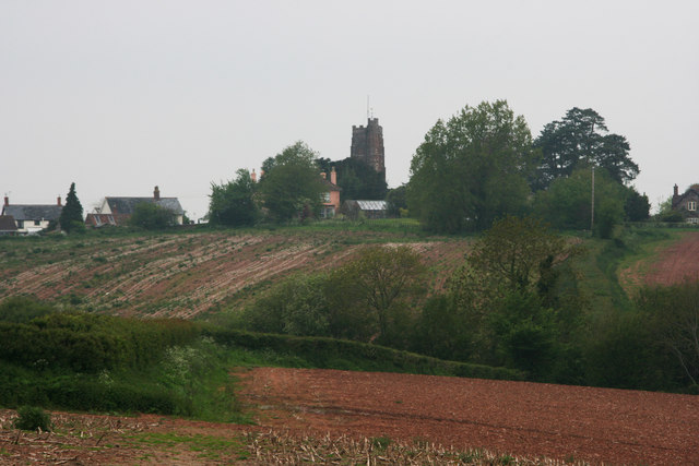Langford Budville from the South East