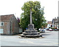 ST4363 : Grade II* listed Village Cross, Congresbury by John Grayson