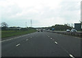 NY2969 : Nouthill bridge over A74(M) south by John Firth