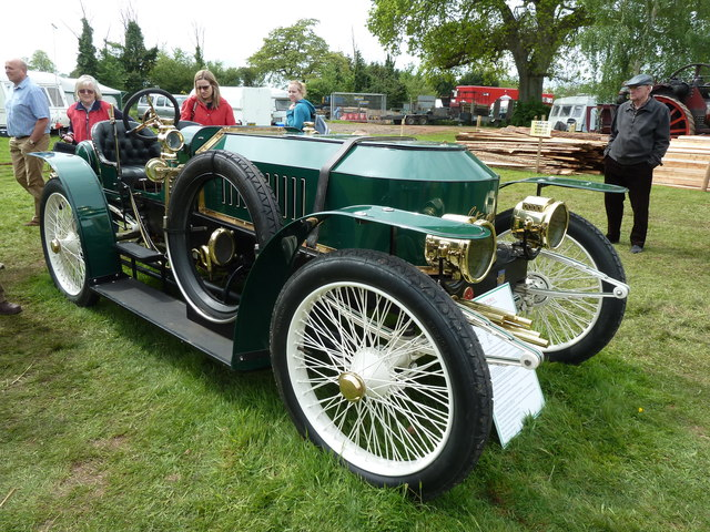Devon County Show - 1908 Stanley steam car