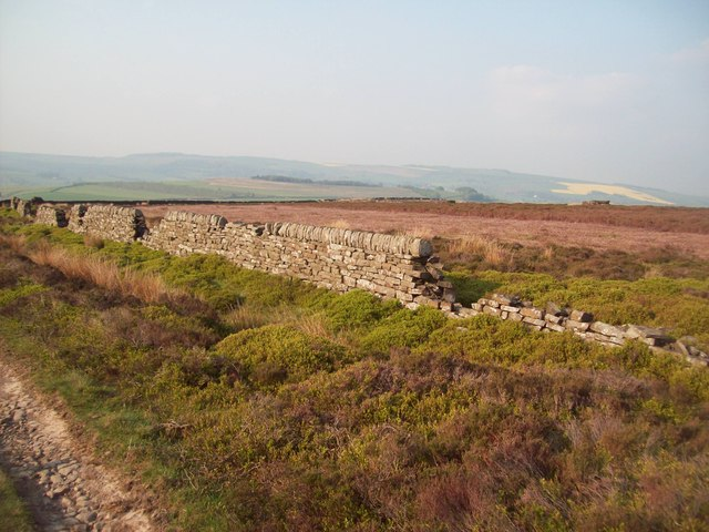 Dry Stone Wall on Ughill Moor