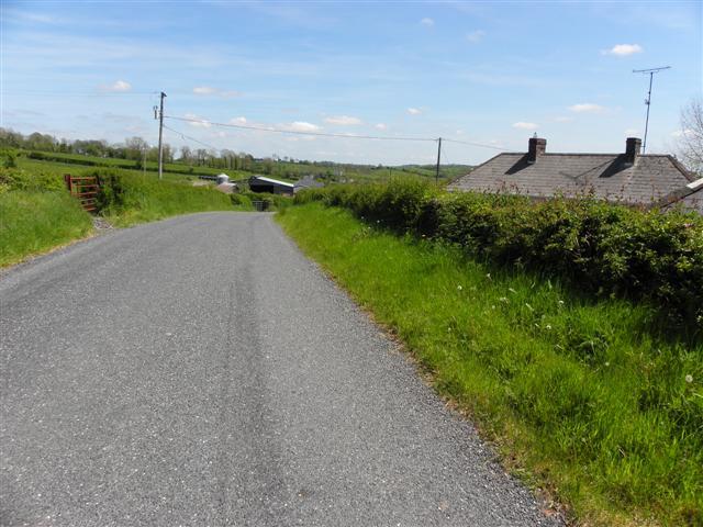 Road at Corragarry