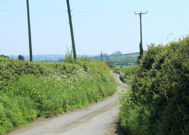 2012 : Bagborough Lane heading south