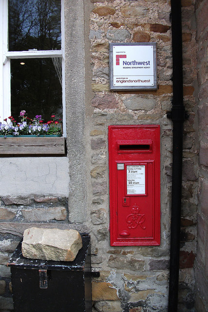 Post box,  Dunsop Bridge