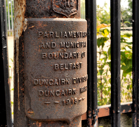 Old boundary post, Whitewell, Belfast (2)