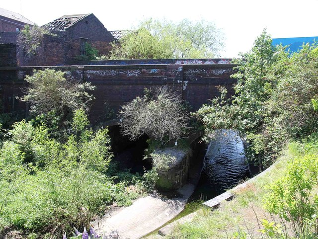 Aqueduct over River Rea on Digbeth Branch Canal